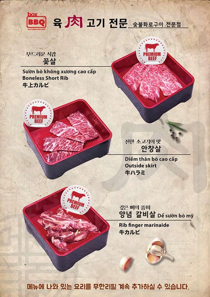 Menu Box BBQ – Nguyễn Thị Thập 13