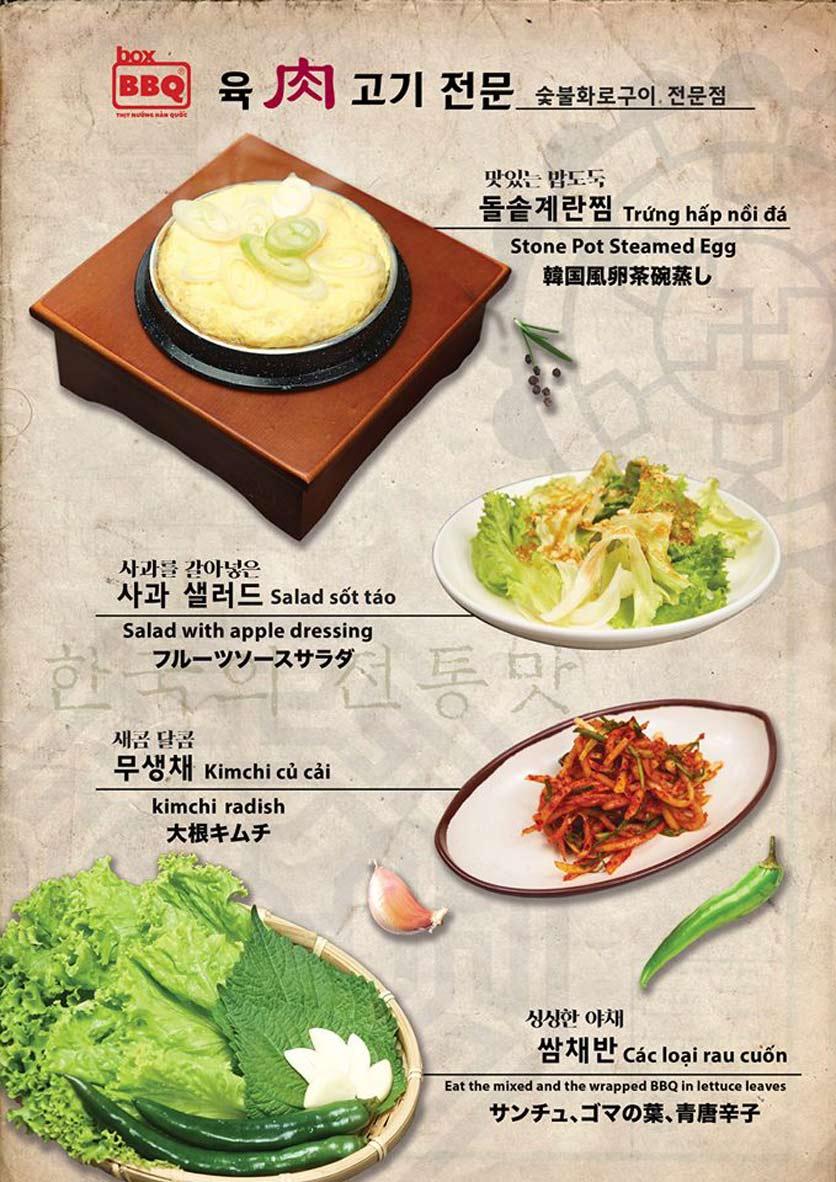 Menu Box BBQ – Nguyễn Thị Thập 15