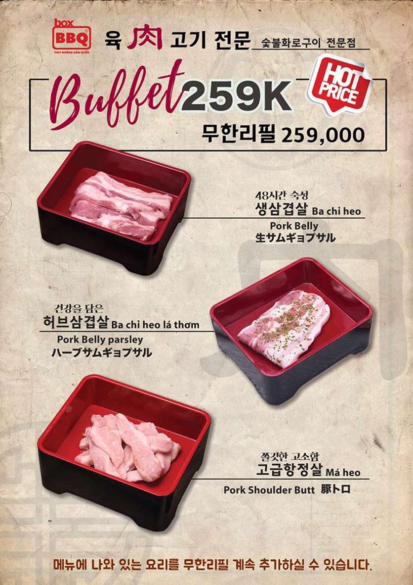 Menu Box BBQ – Nguyễn Thị Thập 2