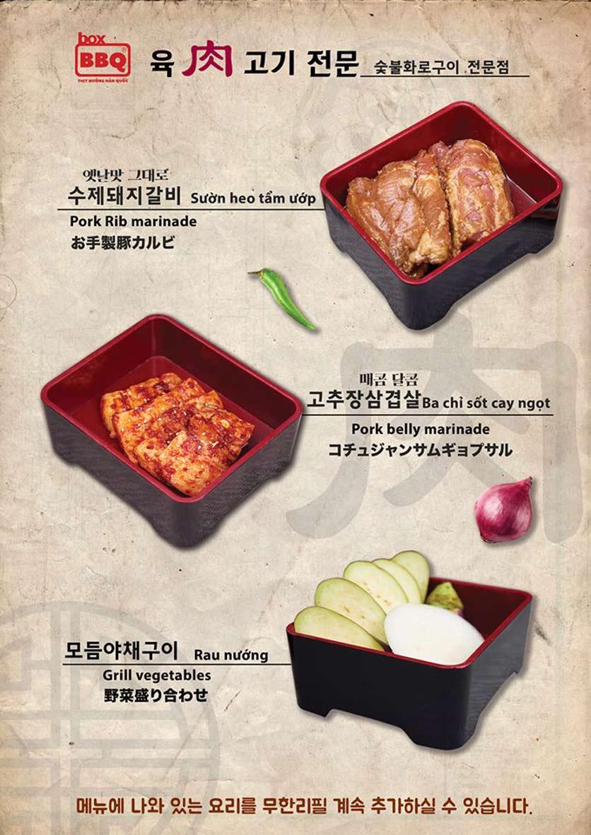 Menu Box BBQ – Nguyễn Thị Thập 4