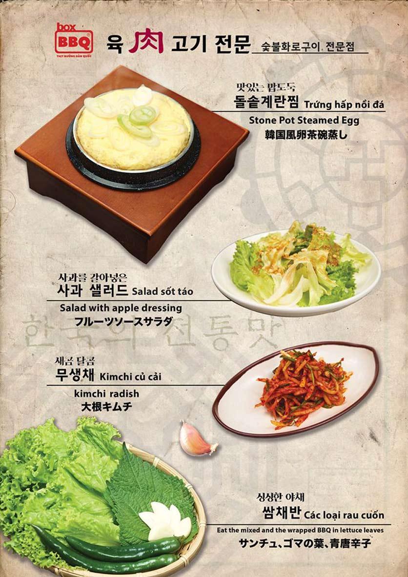 Menu Box BBQ – Nguyễn Thị Thập 6