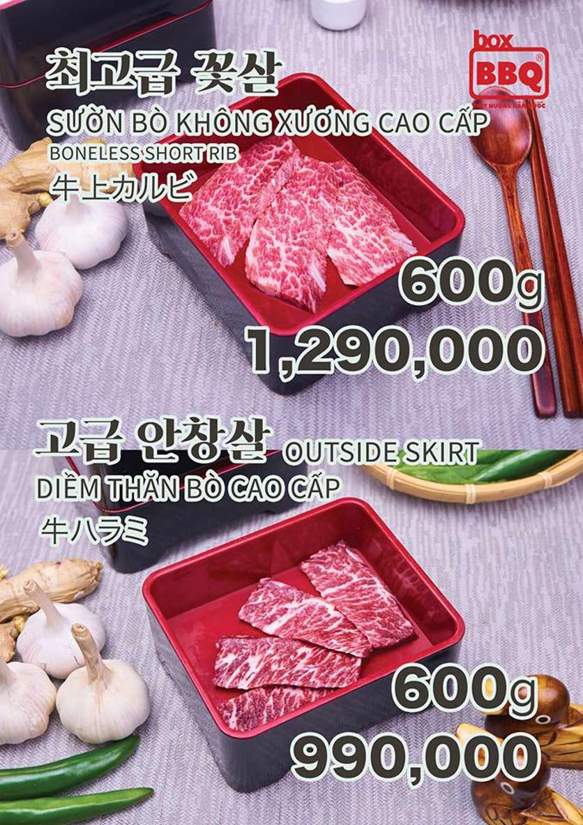 Menu Box BBQ – Nguyễn Thị Thập 8