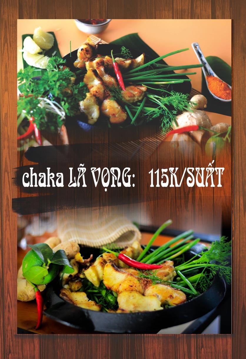 Menu Chaka Lã Vọng An Bình - Phạm Văn Đồng  1