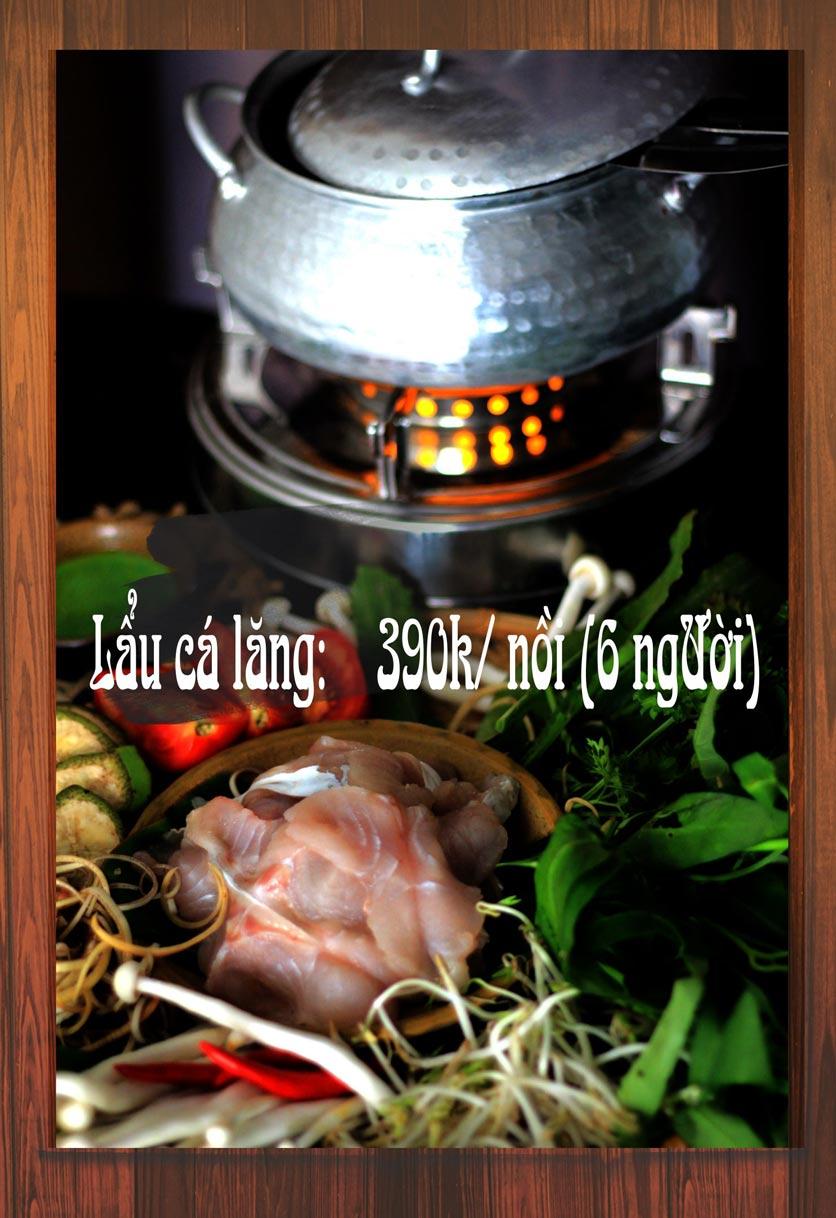 Menu Chaka Lã Vọng An Bình - Phạm Văn Đồng  2