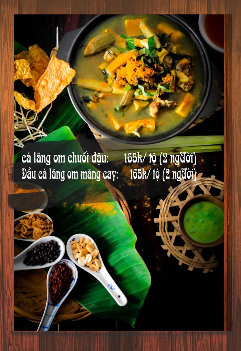 Menu Chaka Lã Vọng An Bình - Phạm Văn Đồng  3