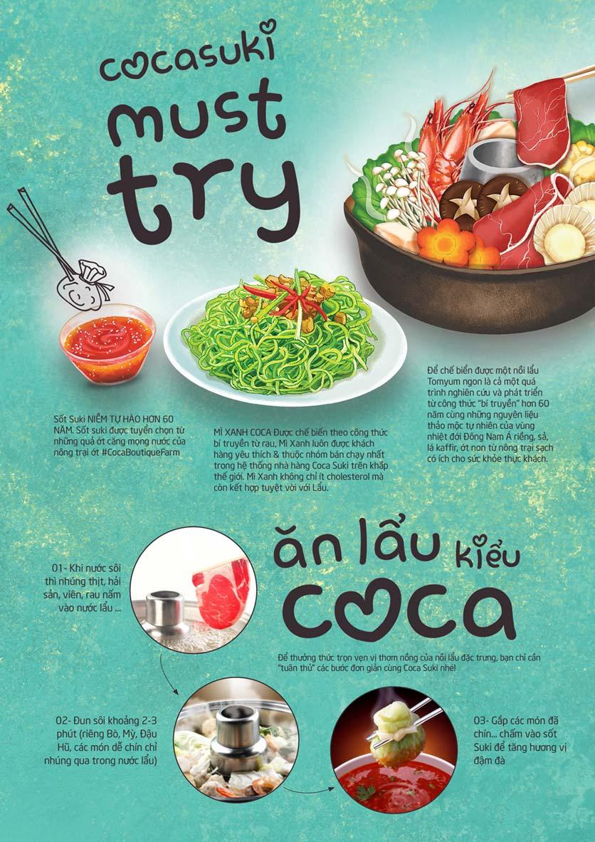 Menu Coca Suki - Parkson Tân Sơn Nhất 2