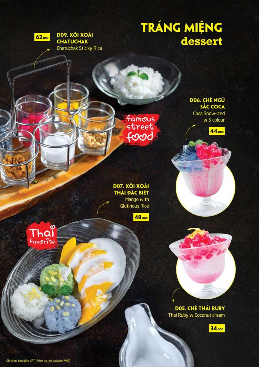 Menu Coca Suki - Parkson Tân Sơn Nhất 29