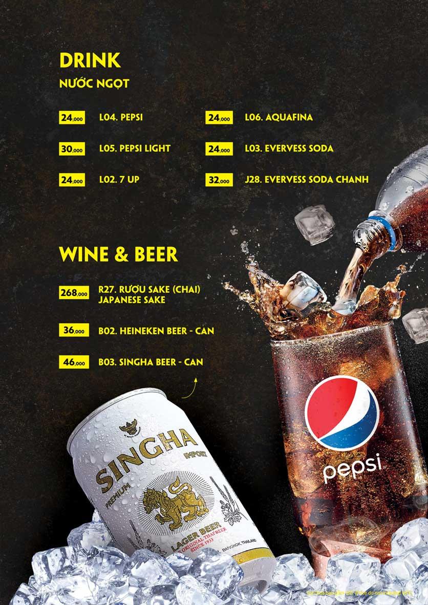 Menu Coca Suki - Parkson Tân Sơn Nhất 30