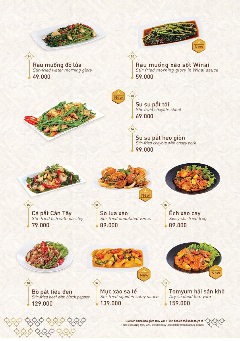 Menu Khao Lao - Big C Thăng Long  11