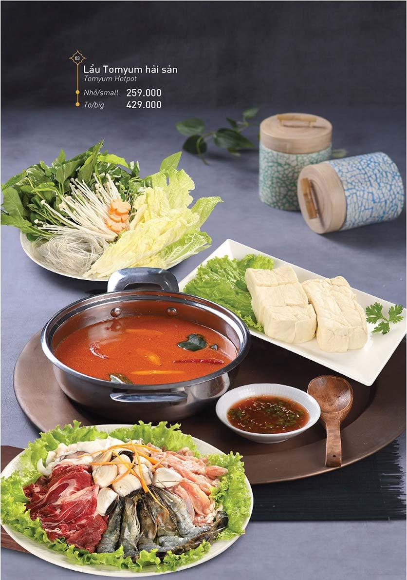 Menu Khao Lao - Duy Tân 15