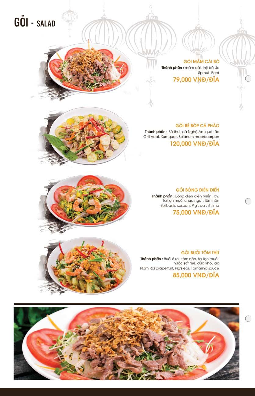 Menu Mì Quảng Bếp Tâm - Hàng Bài 6