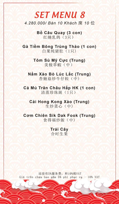 Menu Sik Dak Fook - Trần Hưng Đạo B   37