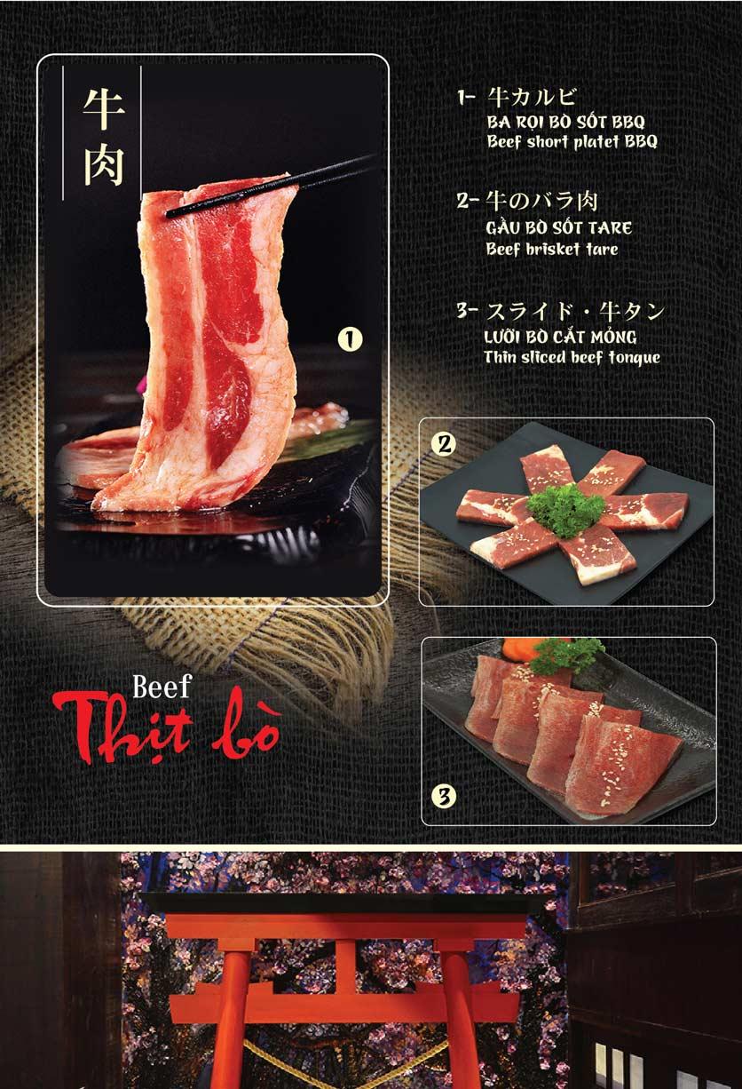 Menu Tokori BBQ - Ngô Quyền 5
