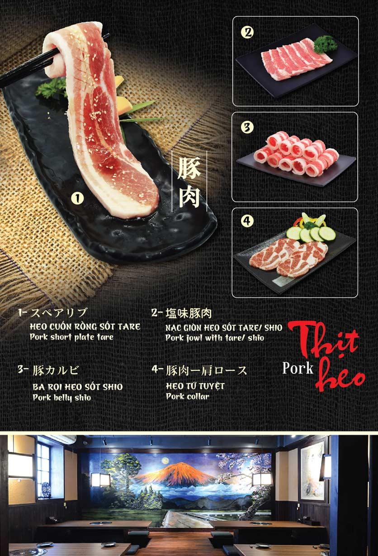 Menu Tokori BBQ - Ngô Quyền 6
