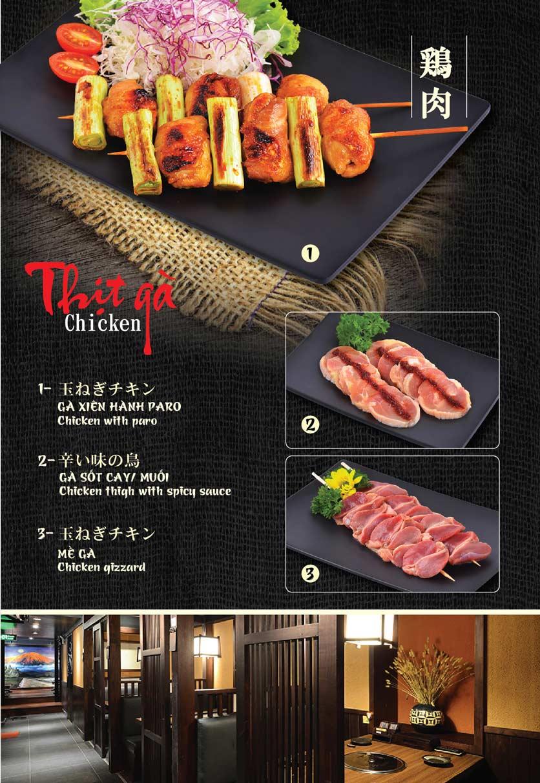 Menu Tokori BBQ - Ngô Quyền 7