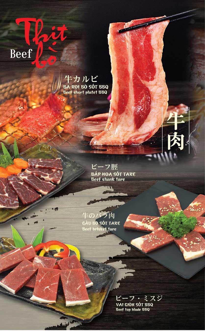 Menu Tokori BBQ - Ngô Quyền 15