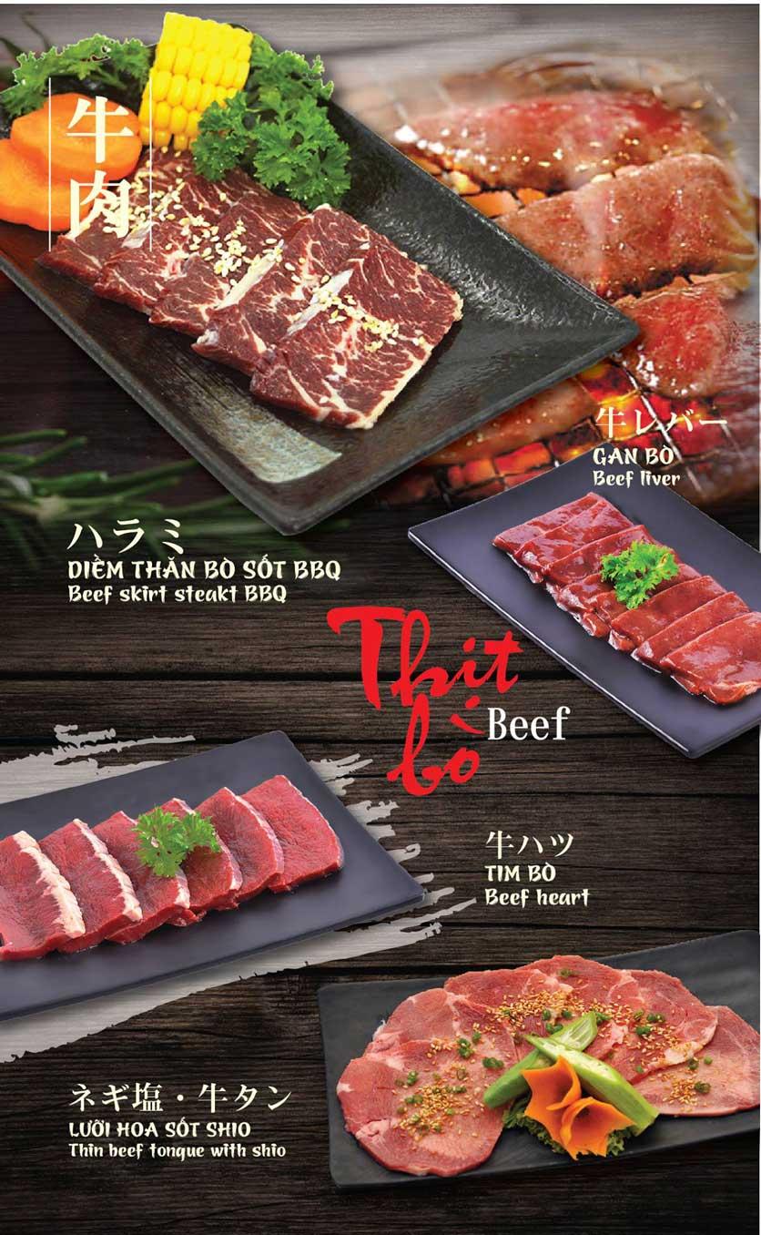 Menu Tokori BBQ - Ngô Quyền 17