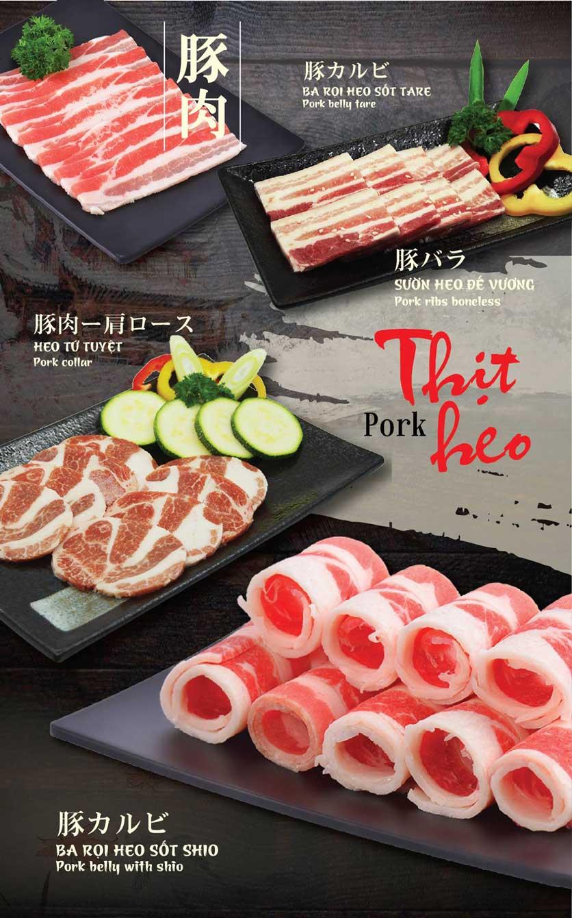 Menu Tokori BBQ - Ngô Quyền 19