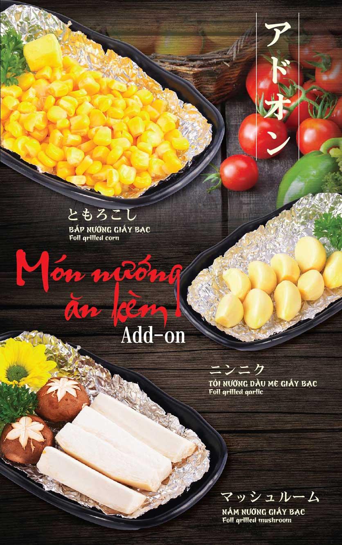 Menu Tokori BBQ - Ngô Quyền 22