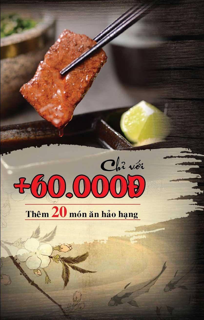 Menu Tokori BBQ - Ngô Quyền 29