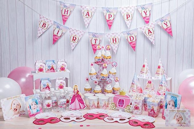 Image result for Cách trang trí tiệc sinh nhật cho bé gái nhà bạn