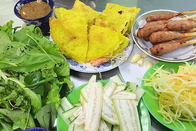 Image result for bánh xèo Đà Nẵng