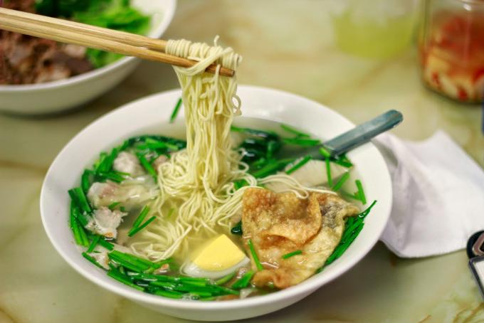 Mỳ vằn thắn – ăn ngon lại lo giúp bạn không lo cả ngày đói