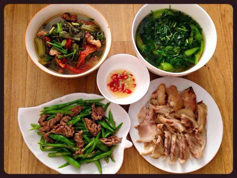 Kết quả hình ảnh cho Thực đơn nấu ăn mỗi ngày dễ làm cho gia đình