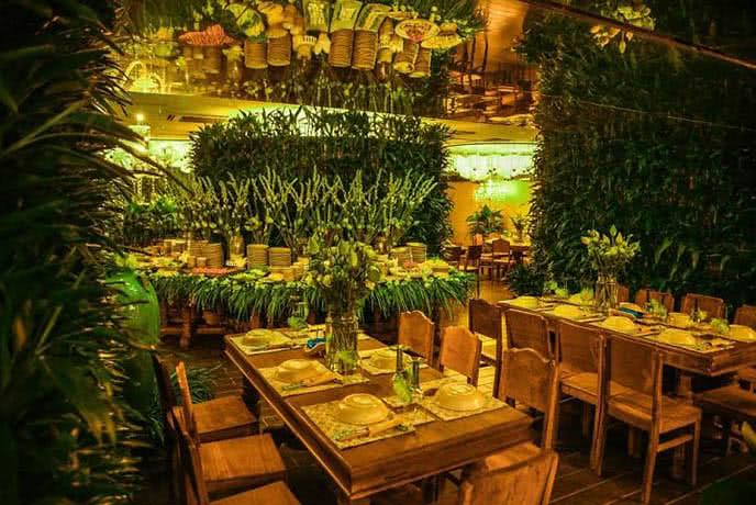 Những nhà hàng có không gian xanh 14