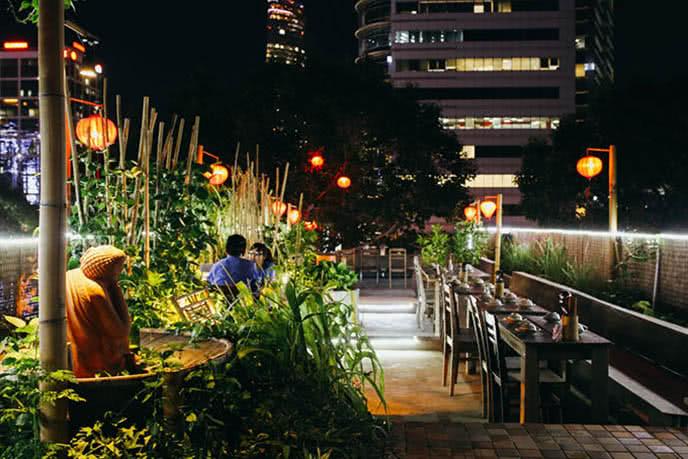 Những nhà hàng có không gian xanh 2