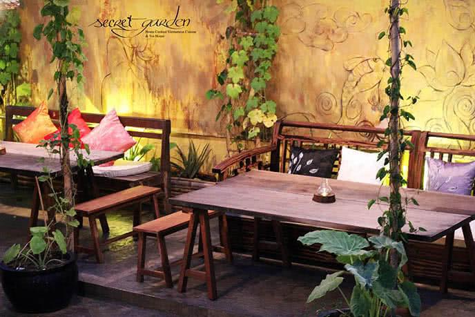 Những nhà hàng có không gian xanh 28