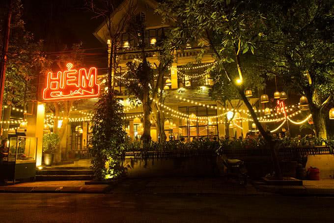 nhà hàng hẻm quán hà nội 4