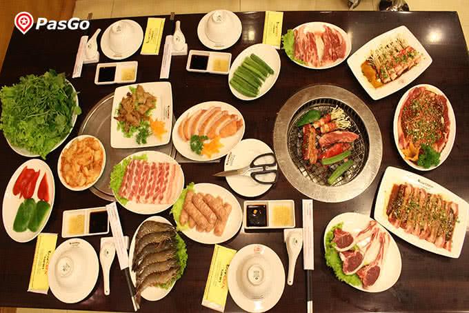 Lẩu nướng Nhật Bản ở Chen Hoàng Ngân