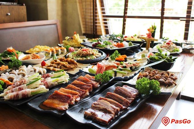 nhà hàng sashimi bbq garden japanese village 2b nguyễn thị thập 16