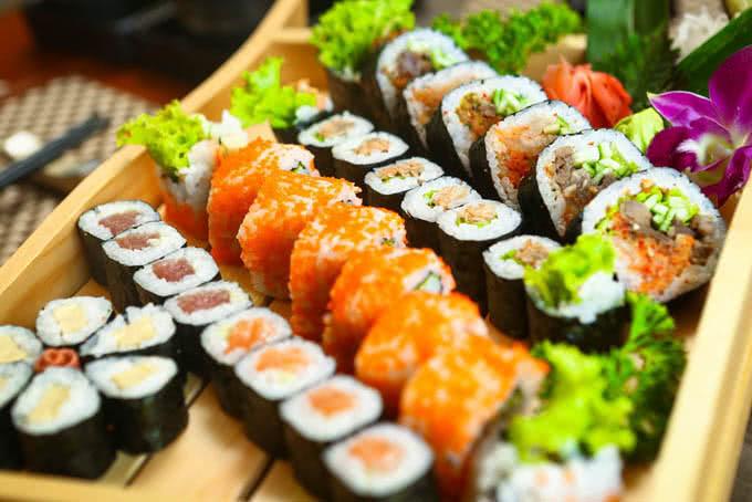 nhà hàng sashimi bbq garden nguyễn thị thập 5