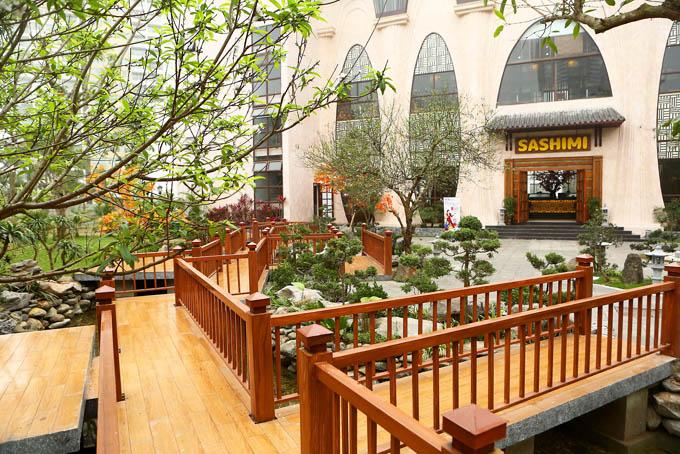 nhà hàng sashimi bbq garden nguyễn thị thập 9