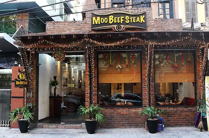 Lối vào của moo beef steak trần quốc toản