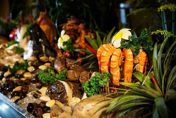 Buffet Sứ 64 Nguyễn Du món ăn 4