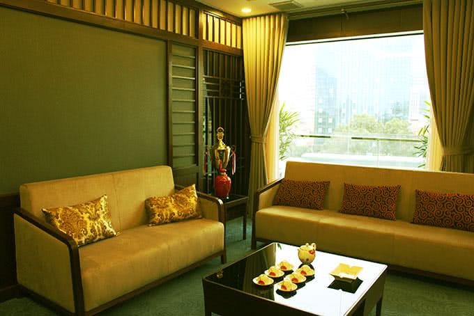 phòng tiếp khách của Nhà hàng Chen  Hoàng Ngân