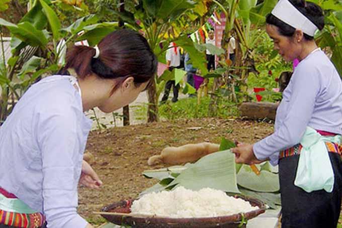 Độc đáo nét văn hóa ẩm thực dân tộc Mường ở Hòa Bình - 2