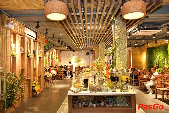 nhà hàng buffet chay hương thiền xã đàn - 13