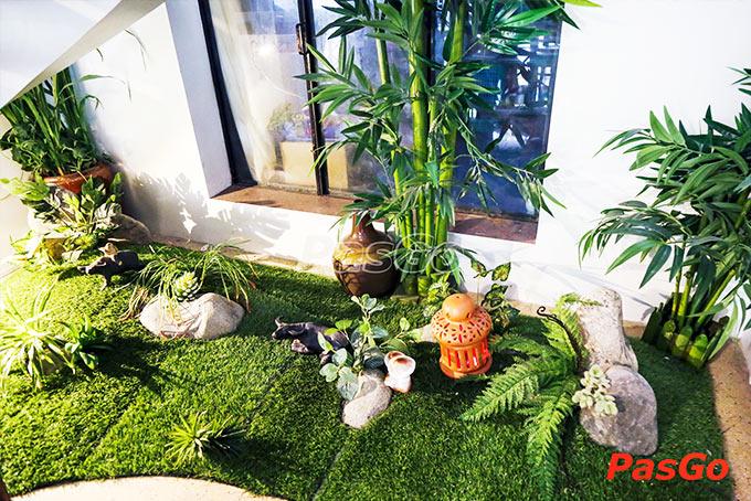 nhà hàng vườn chay garden lê quang định - 20