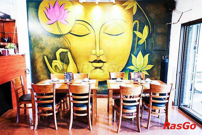 nhà hàng vườn chay garden lê quang định - 26