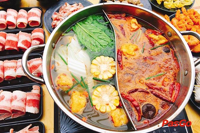 Chuỗi Yixin – Lẩu Hồng Kông | Món Miền Trung