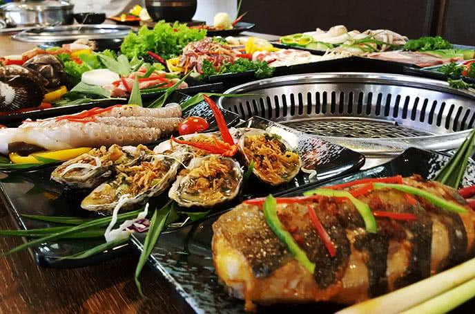 nhà hàng galbi bbq royal city 6