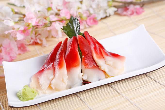 Sashimi màu sắc bắt mắt - Nhà hàng Habit BBQ