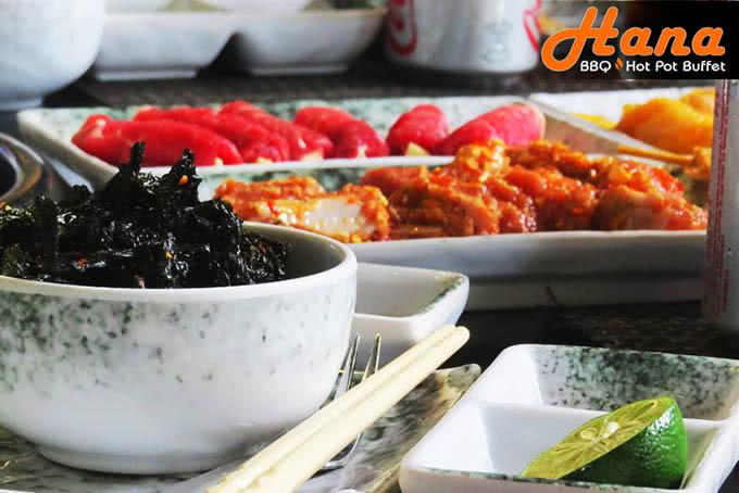 nhà hàng hana buffet lẩu nướng điện biên phủ 12