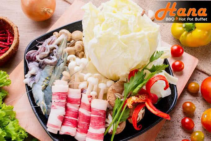 nhà hàng hana buffet lẩu nướng điện biên phủ 15