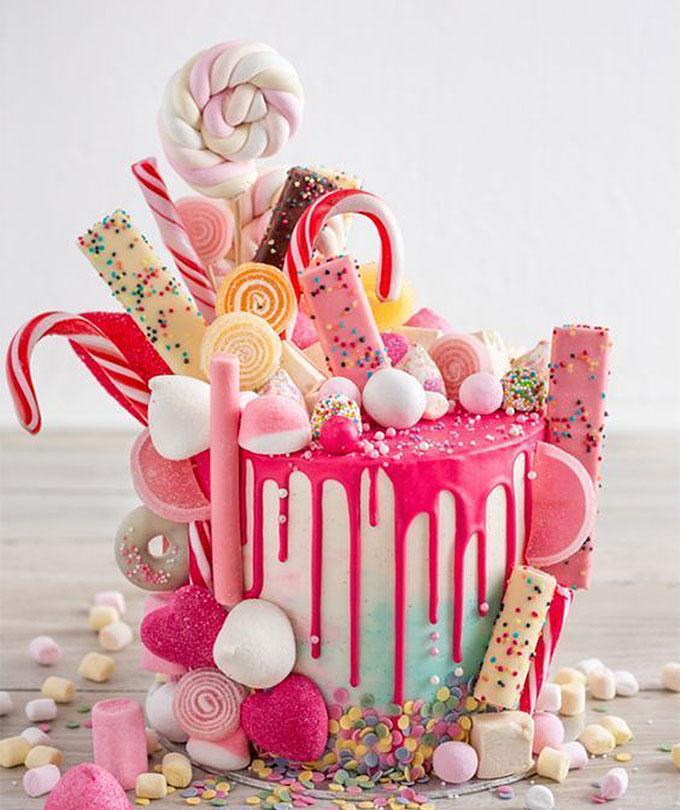 Chiếc bánh ngọt ngào, ấn tượng tặng cho bé gái