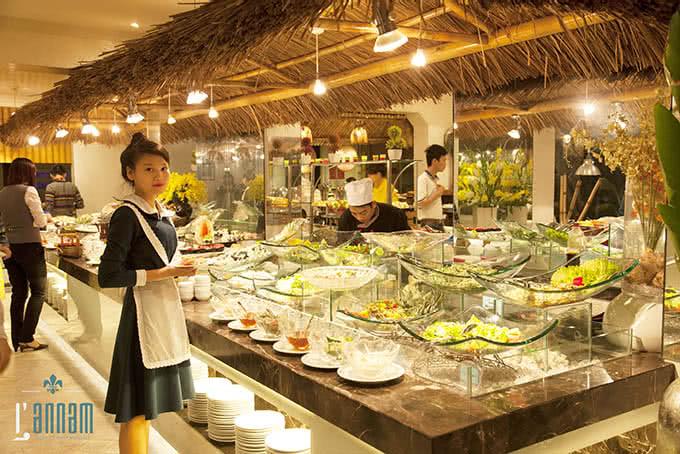 nhà hàng L'annam buffet 177 bùi thị xuân 16